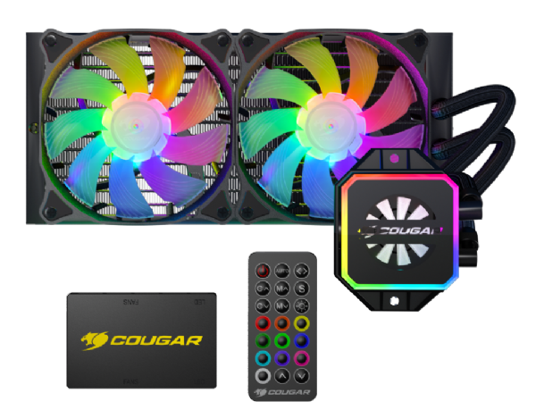 Cougar Helor 240 CPU Liquid Cooler